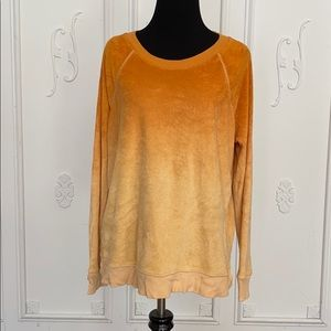 American Eagle Ombré soft & sexy terry sweatshirt